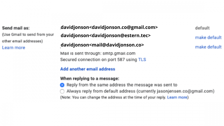 hosting domain email with gmail