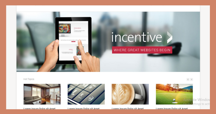 review group, incentive theme