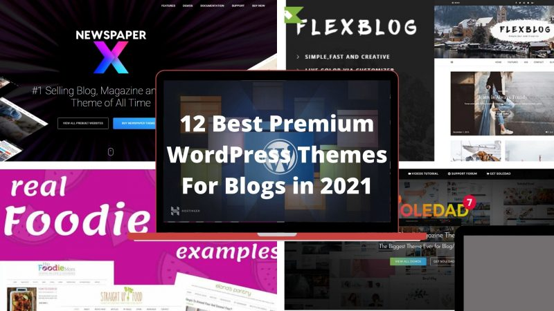 12 Best Premium WordPress Themes For Blogs in 2021